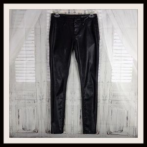 BLANK NYC FAUX LEATHER JEANS